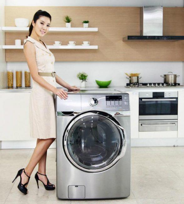 cách khăc phục lỗi pe máy giặt lg