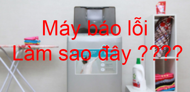 lỗi e1 máy giặt toshiba