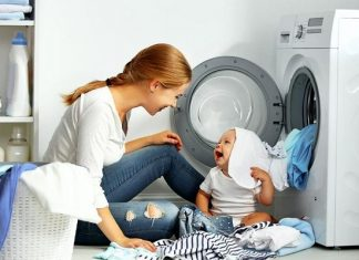 máy giặt LG báo lỗi DE