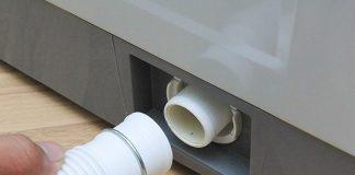 lắp vòi nước máy giặt toshiba