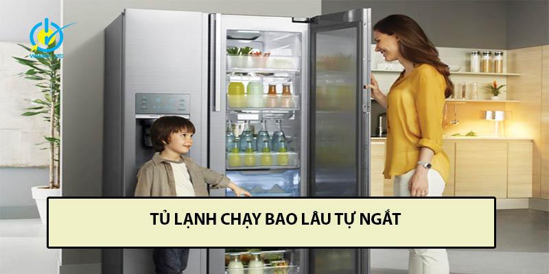 tủ lạnh chạy ngắt liên tục
