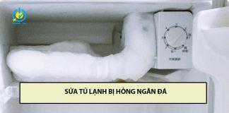 sửa tủ lạnh bị hỏng ngăn đá