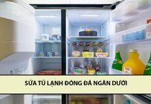 sửa tủ lạnh đóng đá ngăn đá