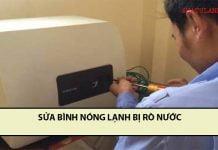 sửa bình nóng lạnh bị rò nước