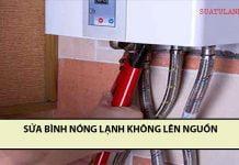 sửa bình nóng lạnh không lên nguồn